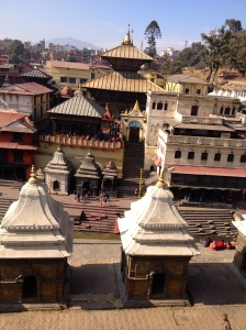 Pashumatinath is a UNESCO World Heritage Site adjacent to Kathmandu's airport. It is also the city's best known cremation site. (copyright Donatella Lorch)