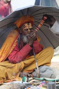 This Sadhu greatly enjoyed his ganja. © Donatella Lorch