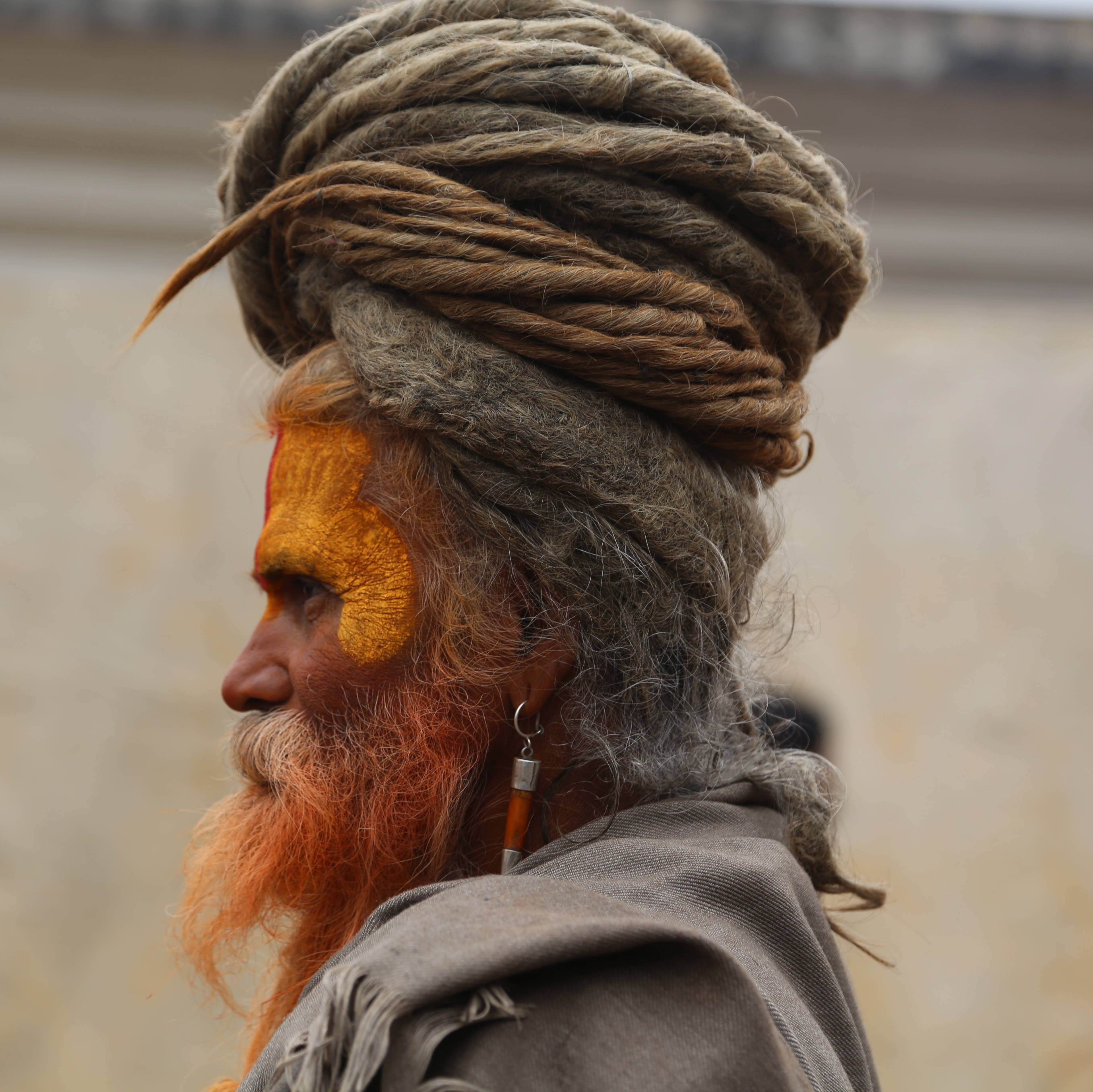 Sadhus come to Nepal from all over the Indian subcontinent to ...