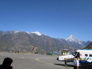Lukla Airport runway ©Karma Sherpa