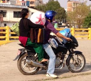 Nepal transport -- I love Nepal because I learn every day. © Donatella Lorch