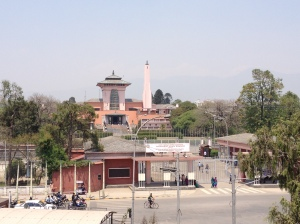 The Narayanhiti Palace, now a museum and a former residence of Nepali kings. ©Donatella Lorch