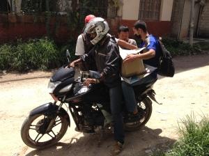 raksi on bike