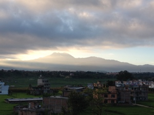 Dawn over the Kathmandu Valley. ©Donatella Lorch