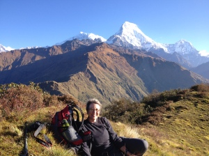 Why do people come to Nepal to trek?  The ever changing mountains take your breath away every moment of the day.©Lucas Zutt