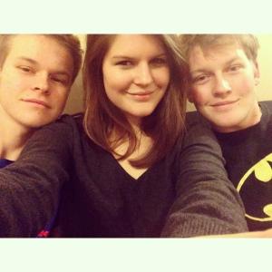 Alex, Madeline and Nico © Madeline Zutt selfie