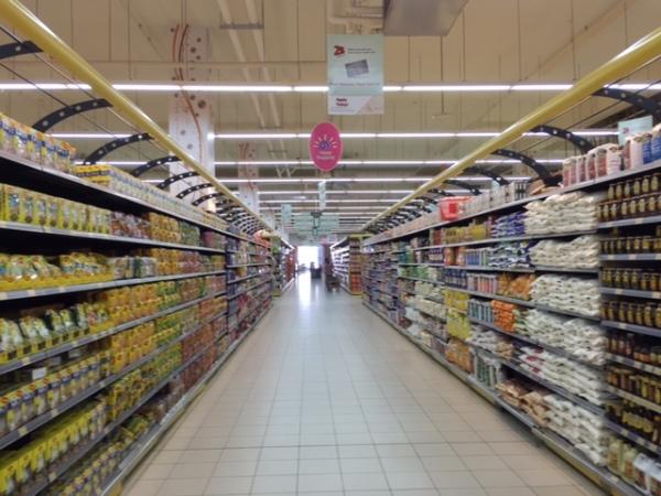Oman's high end version of Costco: the Lulu Hyper Market. ©Donatella Lorch