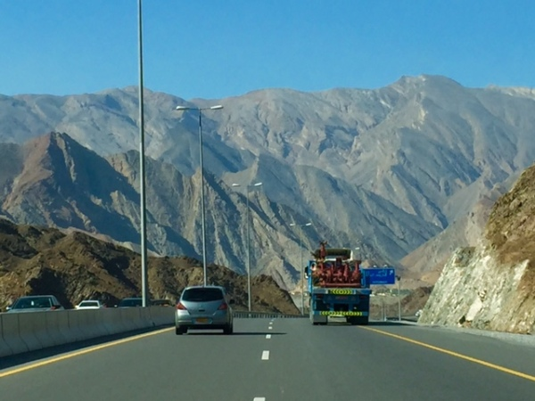 Oman's northern mountains. © Donatella Lorch