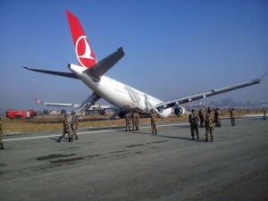 Turkish Airlines has landed